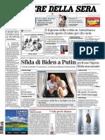 Corriere Della Sera 18 Marzo 2021