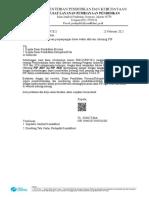 Pemberitahuan perpanjangan batas waktu aktivasi rekening PIP