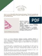 Nasce il nuovo Etna DOC della Tenuta di Fessina, Arricrìa. In anteprima al Vinitaly 2011