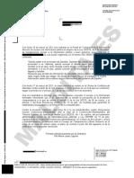 Resolución de la Oficina de Conflictos de Intereses en la que confirma que Salvador Illa no ha pedido la indemnización como exministro
