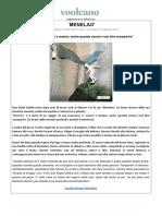 Comunicato Stampa - Menelao - DueVentiContro- Singolo