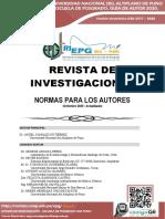 Normas Revista Investigaciones EPG. setiembre_PROTEGIDO