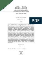 AFFAIRE S.M. c. CROATIE (1)