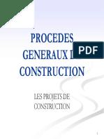 Cours PGC - Les Projets - Avant propos