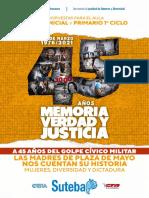 CUADERNILLO DDHH 24M 45 AÑOS - Inicial Primario 1er Ciclo