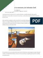 La persistencia de la memoria de Dalí_ análisis y significado de la pintura - Cultura Genial