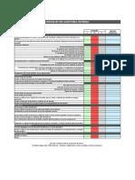 Checklist de auditoria interna - Ações de Formação