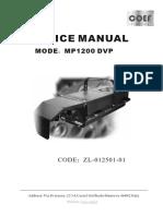PERFORMANCE 1200 DVP