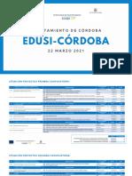 Proyectos Edusi-Córdoba 22-03