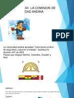 DECISIÓN 584  LA COMISION DE LA COMUNIDAD ANDINA