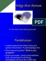 Konsep Askep Post Partum
