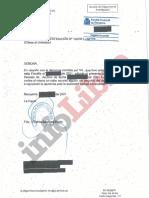 Documento Fiscalía Provincial de Barcelona
