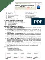 SIGCO-MM-PETS Nº 003 IZAJE DE EQUIPOS MATERIALES CON TECLE EL