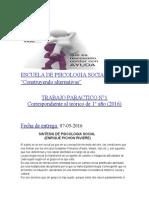 ESCUELA DE PSICOLOGIA SOCIAL
