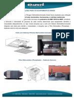 aplicação dos equipamentos arwek - Copia