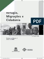 Refúgio, Migrações e Cidadania – Caderno de Debates volume 1