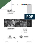 Refúgio, Migrações e Cidadania vol. 6