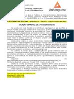 """4º E 5º SEMESTRE ECO 2021 - """"Globalização e Cenários Para a Economia Em 2021"""""""
