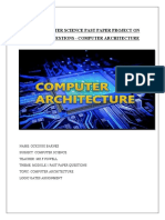 COMPUTER ARCHITECTURE PROJECT