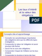 Evaluation des obligations