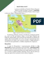 Mesopotâmia e Egito(1)