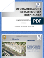 CLASE 1-CAP I - TOPICOS EN ORGANIZACION E INFRAESTRUCTURA       HOSPITALARIA