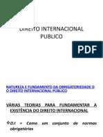 3 AULA DIREITO INTERNACIONAL PUBLICO