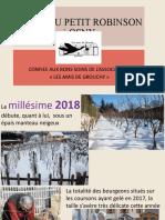 Vigne Du Petit Robinson 2018-2020