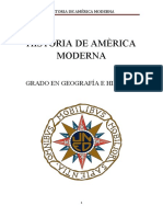 HISTORIA DE AMERICA MODERNA