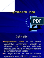 Clase 7IO Prog Lineal