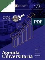 Agenda Universitaria - Abril 2019