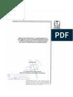 2000-021-002 Manual de integración y funcionamiento de los Comités Locales de Investigación en Salud y Comités Locales de Ética en Investigación del Instituto Mexicano del Seguro Social