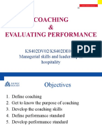 9 - Coaching and performance Leadership