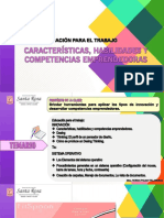 CLASE 1  CARACTERÍSTICAS, HABILIDADES DEL EMPRENDEDOR QUINTO AÑO