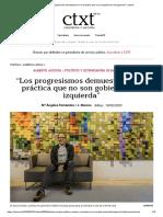 Entrevista Alberto Acosta (Ctxt, 18-02-20, Ecuador)