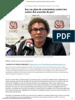 Entrevista Pastor Alape (Público, 20-02-20, Colombia)