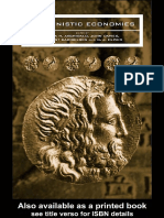 ARCHIBALD, Zofia. Hellenistic Economies