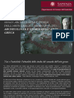 Aula de Arqueologia Clássica - Prof Marco Galli - Roma