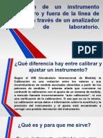 CALIBRACIÓN DE UN INSTRUMENTO OWD