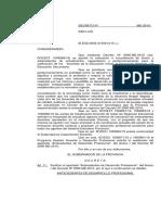 Decreto Nº 3548 ME 2019