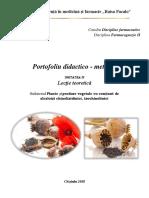 PM si PV cu  alcaloizi chinolizidin., izochinolinici
