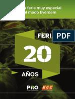 Catálogo Feria 313 Everdem 20 Años.