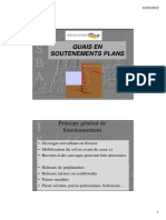 3.2 - Soutènements plans