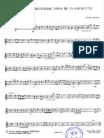 mon deuxieme solo de clarinette