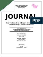 Journal-malpractice