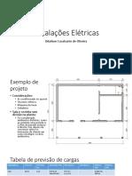 Instalações Elétricas. Odailson Cavalcante de Oliveira