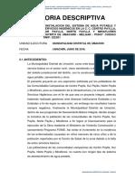 Memoria Descriptiva Agua Payllas - Final