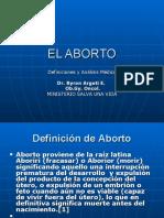 EL ABORTO presentacion Congreso Nacional