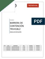 M12PE-7-11 Manual de Instalación Barrera TRVH1BL2 REV3