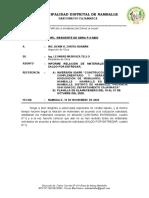 09.00 Informe N°009 Puesto de Salud - COTIZACIÓN DE MATERIALES